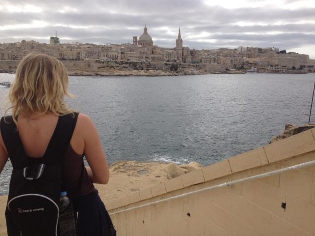 Längtar tillbaka till Malta och solen.